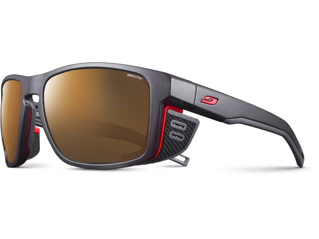 Julbo Shield Reactiv High Mountain 2-4 Sunglasses, black/orange